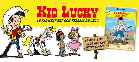 Kid Lucky revient en BD !