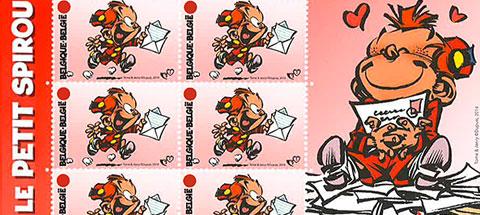 Enfin un timbre Petit Spirou en Belgique !