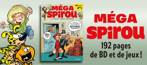 Nouveau costume XXL pour Le Journal de Spirou