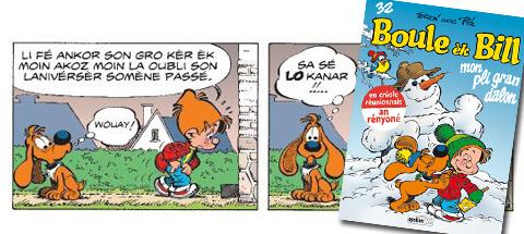 Boule & Bill parlent créole !