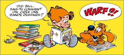 Apprends à faire une bande dessinée avec Boule & Bill !