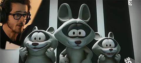 Michael Gregorio dans Garfield & Cie !