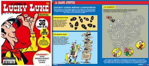 NOUVEAU : le journal de Lucky Luke n°1