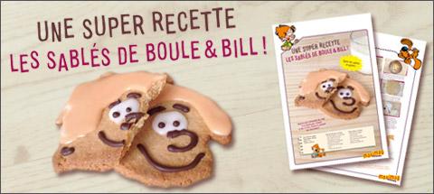 Super recette de Boule & Bill