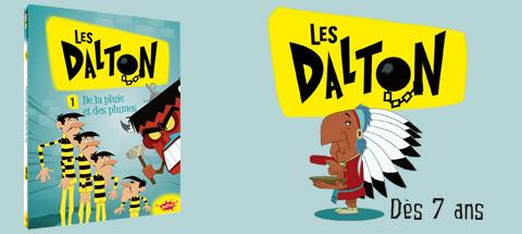 Les Dalton : héros de dessin animé et... de roman !