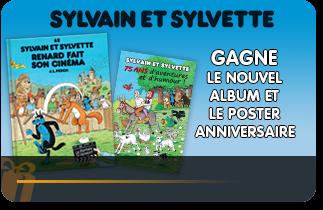 Gagne le nouvel album de SYLVAIN ET SYLVETTE