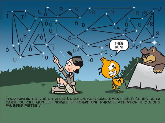 Nuit à la belle étoile