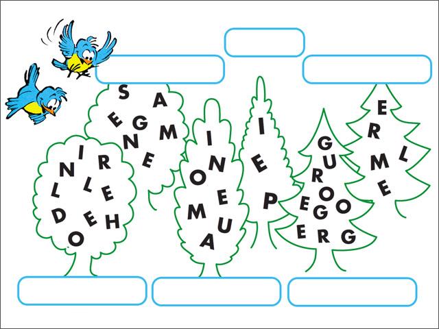 Jeux imprimer boule bill lettres m lang es - Lettres a imprimer ...