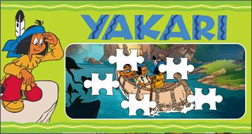 jeu Yakari Puzzle