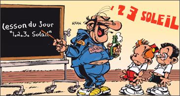 jeu Le Petit Spirou 123 Soleil