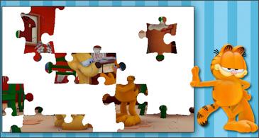 jeu Garfield Garfield et Odie à la pizzeria