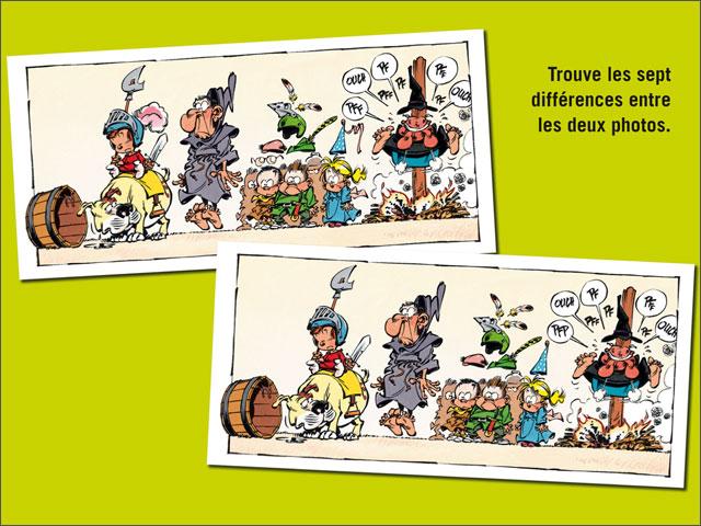 les sept différences