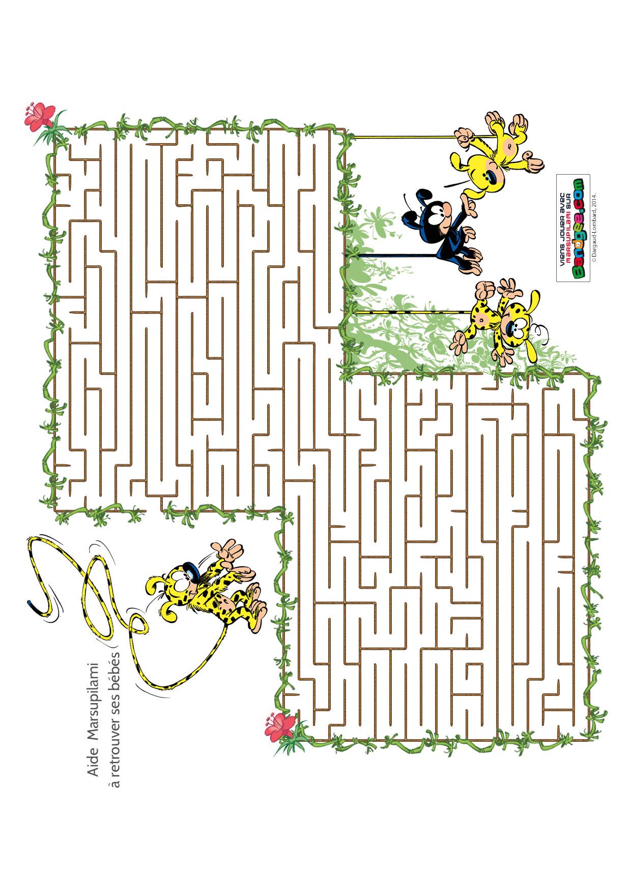 - Jeu labyrinthe a imprimer ...