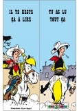 Marque-page Lucky Luke