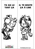Marque-page Le Petit Spirou