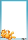 Papier  lettres Garfield