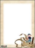 Papier à lettres Léonard