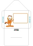 Enveloppe Garfield