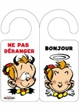 Accroche-porte Le Petit Spirou