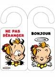 Accroche-porte Le Petit Spirou