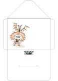 Enveloppe Zizi chauve-souris