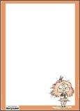 Papier à lettres Zizi chauve-souris