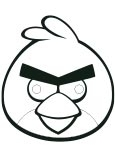 Masque Angry Birds
