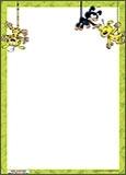 Papier à lettres Marsupilami