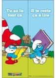 Marque-page Les Schtroumpfs