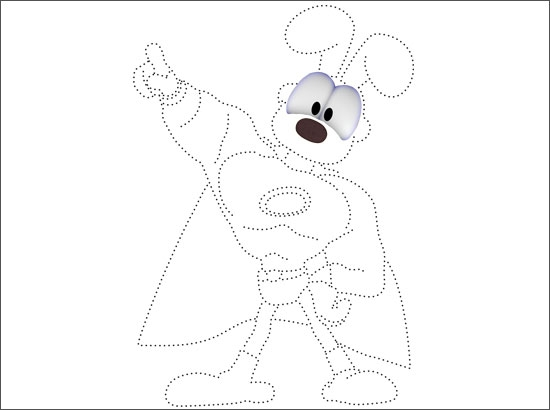 Coloriage Super Odie