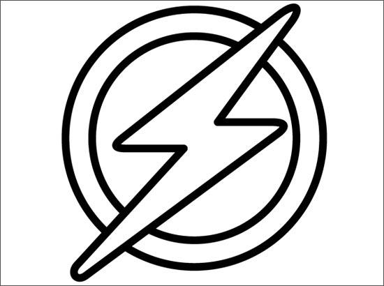 Coloriage Flash