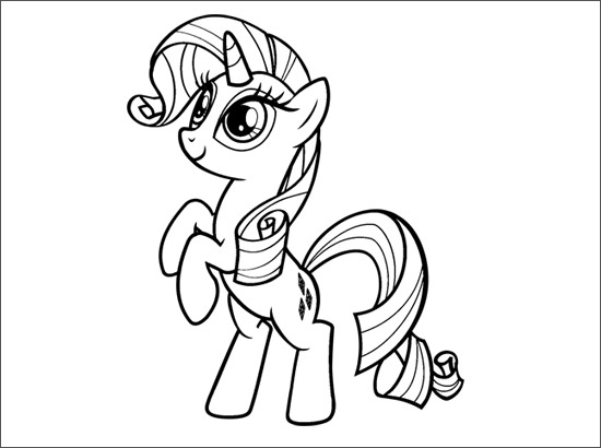 Coloriage Rarity