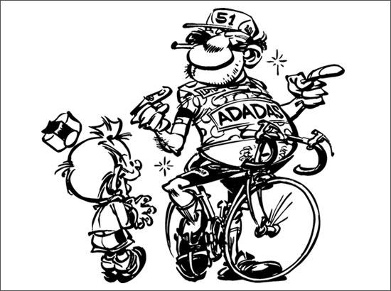 Coloriage Spécial Tour de France