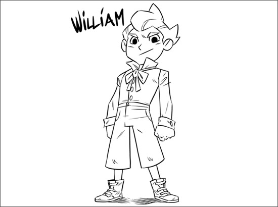 Coloriage William