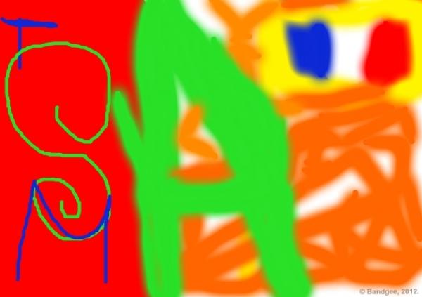 Coloriage de le petit samuel