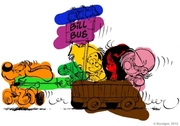 Coloriage de Babouchons