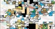 Les Schtroumpfs : Puzzle
