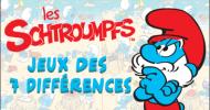 Les Schtroumpfs : Jeu des 7 différences