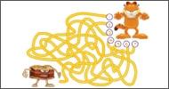 jeu Garfield Le bon chemin