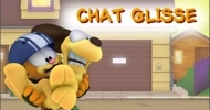 Garfield : Chat glisse