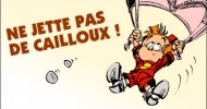 Le Petit Spirou : Ne jette pas de cailloux !
